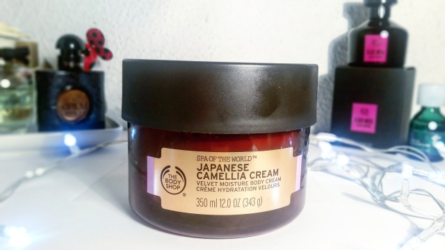 spa of the world the body shop japanese camellia cream - beautyandatwist beauty blog