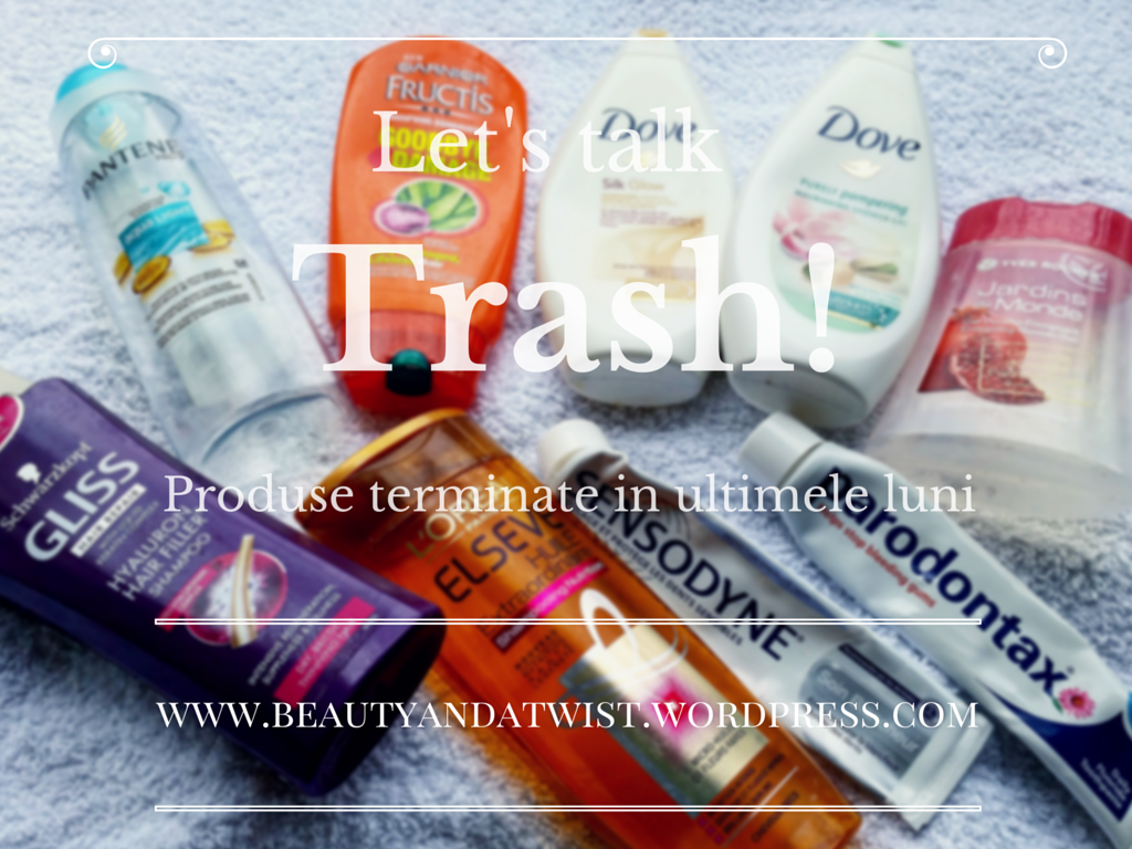 Let's talk trash! Produse terminate #1
