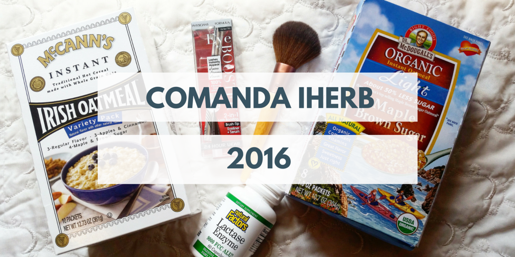 Comanda iHerb #3 2016
